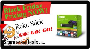Roku Streaming Stick + $35 Credit - ONLY $29!