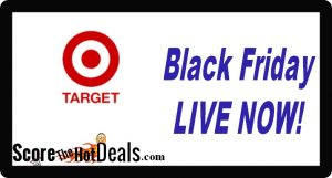 GO! Target Black Friday LIVE NOW!