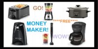 **HUGE MONEYMAKER** FREE Small Appliances + Make Money (after all offers)!