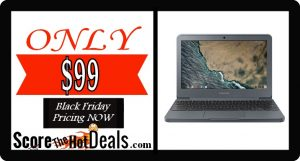 "Samsung 11.6"" Chromebook - ONLY $99!"