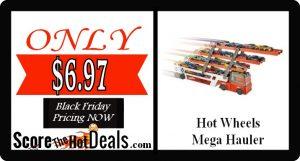 Hot Wheels Mega Hauler - ONLY $6.97!