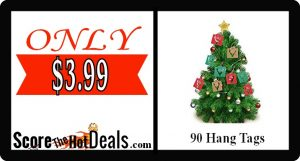 90 Christmas Hang Tags - ONLY $3.99!
