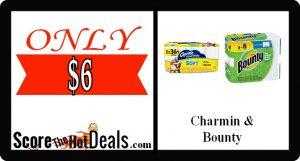 **STOCK UP** Charmin & Bounty Savings!!