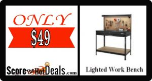 Lighted Tool Bench - ONLY $49!
