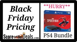 PlayStation 4 Black Friday Pricing NOW!