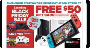 GameStop Black Friday Ad Leaked!