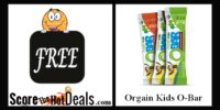 ~FREE~ Organic Orgain Kids O-Bar Sample!