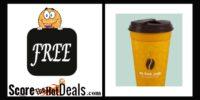 **FREE** Travel Mug + Discounted Coffee!