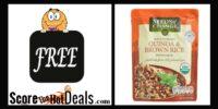 *RUN* F-R-E-E Organic Quinoa & Brown Rice Pouch!
