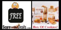 **FREE** Box Of Cookies!