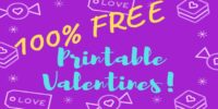 ~FREE~ Printable Valentines!