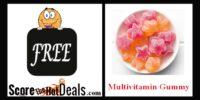 **FREE** Multivitamin Gummy Sample!