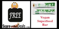 ~FREE~ EnergiOne Vegan Superfood Bar!
