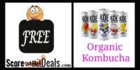 **FREE** KOE Organic Kombucha!!