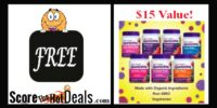 **HURRY** F.R.E.E FULL SIZE Organic Gummy Product (after rebate)!