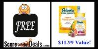 ~FREE~ Ricola Immunity Product!!