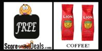 **FREE** Coffee From Lion Coffee!