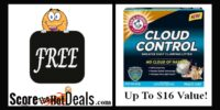 **FREE** Arm & Hammer Cloud Control Cat Litter (up to $15.99 Value)!