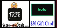 **HOT** F.R.E.E $30 Gift Card Of Choice For Trying Hulu!!!