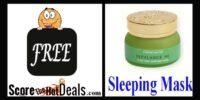 **FREE** Aloe Vera Sleeping Mask Sample!