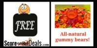 **FREE** All-Natural Gummy Bear Sample!