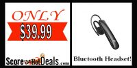 Bluetooth Headset - ONLY $4.80!