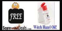 Witch Hazel Oil Sample!