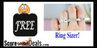 **FREE** Ring Sizer From Brilliant Earth!