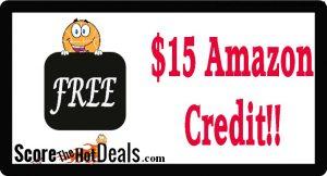 Prime Members - SCORE A $15 Amazon Credit!