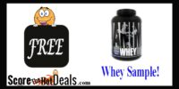 Universal Nutrition Whey Sample!