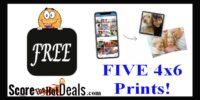 5 F.R.E.E 4x6 Prints At Walgreens!