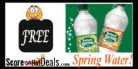 8 Pack Of Spring Water for *F*R*E*E*!