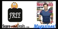 F-R-E-E 1 Year Men's Health Magazine Subscription!