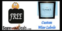 *F*R*E*E* Custom Wine Labels From La Marca Prosecco!