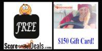 Get a $150 Gift Card Sign Up Bonus PLUS Make Extra Money Delivering With DoorDash!