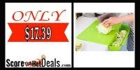 70% Off 2 in 1 Kitchen Chopping Board!