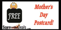 *FREE* Mother's Day Postcard!