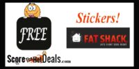 *FREE* Stickers From Fat Shack!