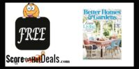 *FREE* Better Homes & Gardens Subscription!