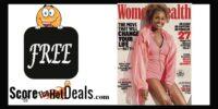 *FREE* Women's Health Magazine Subscription!