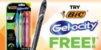 **TOTALLY FREE** BIC Gelocity Pack - Up To $16 Value (after rebate)!