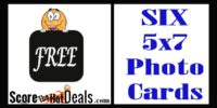 *HURRY* 6 FREE 5x7 Photo Cards From Walgreens!