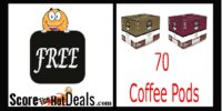 WOOHOO!!! SCORE 70 K-Cup Coffee Pods FOR FREE (after rewards)!