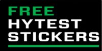 FREE Hytest Stickers By Mail!