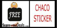 FREE Chaco Sticker!