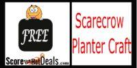 *FREE* Scarecrow Planter Craft Event!