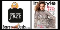 Complementary 2 Year In Style Magazine Subscription!