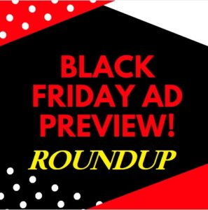 Black Friday Ads List - 2019!