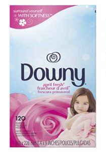 Downy April Fresh Fabric Softener Dryer Sheets, 120 count - As Low As $3.11!