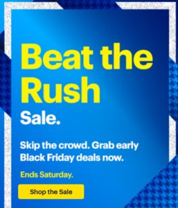 Select Black Friday Deals - LIVE NOW At Best Buy!